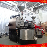 torrificador de café do calor do gás da máquina do Roasting do torrificador de café 60-65kg