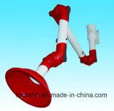 Bras convenable de bras d'aspiration du laboratoire pp de bras d'extraction de vapeur de plafond/échappement de laboratoire