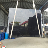 Роскошь цены Marquina самой дешевой китайской черноты цены по прейскуранту завода-изготовителя мраморный совершенно черная мраморный украсила черный мрамор с белизной