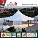صنع وفقا لطلب الزّبون مزيج [مولتي-سدس] خيمة مع [غلسّ ولّ]