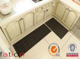 Nueva alfombra tejida de la cocina del hogar de la estera del vinilo del PVC del estilo estera