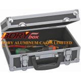 """11 """" X 7 """" X 4 """" Padded Aluminum Fall zum Speicher u. zu Protect Delicate Items Cameras"""