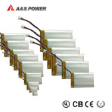Bateria recarregável 3.7V 1700mAh/1800mAh do polímero do lítio do UL 103450