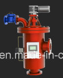 Máquina industrial automática da filtragem da água de esgoto