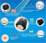 Disipador de calor de aluminio de la aleta del Pin del perfil LED con el diámetro 68m m (diámetro: 68xH: 50m m)