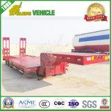 세 배 차축 확장 가능한 트레일러 60 톤 낮은 침대