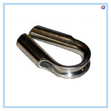Steel di acciaio inossidabile Parte per Tube Thimble, Polished Finish