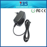 9V 2A EU Plug in Wall Charger com mini USB