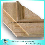 36 po. X 80 po. Type d'acajou rustique entrée principale affligée préfinie de Prehung de bar clandestin en bois solide