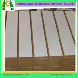 슬롯 MDF/Plain/Wood Veneer/PVC/HPL/UV/Melamine에 의하여 박판으로 만들어지는 MDF