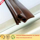 Tira de sello de construcción, Tipo de ranura Sello de puerta, Sello de puerta de madera, Tira TPV / TPE
