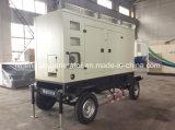 200kVA tipo silencioso móvel gerador do diesel