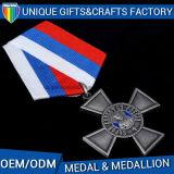 Medaglia militare all'ingrosso personalizzata del metallo del medaglione