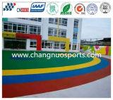 De Kleefstof van Pu voor het Plastic Vloeren/de Speelplaats/de Baan/de Renbaan van Sporten