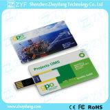 Kundenspezifisches Drucken-förderndes Geschenk-Kreditkarte USB-Blitz-Laufwerk (ZYF1232)