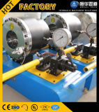 Máquina que prensa manual hidráulica portable de la prensa de planchar del manguito de la potencia del Finn