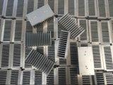 Disipador de calor de aluminio del material del Al del perfil del transporte