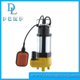 Bomba de agua sumergible eléctrica de aguas residuales