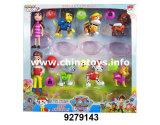 """Пластмассы 3.5-4 игрушек собаки игрушек малышей новизны кукла установленной """" (9279143)"""