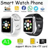 タッチ画面の表示(A1)が付いている最も新しくスマートな腕時計の電話
