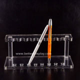 Suporte de titular de caneta de acrílico transparente (BTR-H1046)