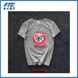 Maglietta stampata cotone su ordinazione di modo per gli uomini
