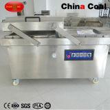 Macchina d'imballaggio a vuoto automatica del doppio alimento dell'alloggiamento di Dz600-2sb