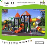 Kaiqi medium -Sized Playground van Colourful Children met Slides (KQ35029A)