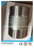 Raccord de pipe fileté par mâle de garnitures d'acier inoxydable de Bsp Sch40s Tbe