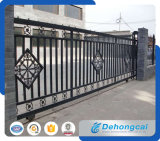 Puerta industriosa durable del hierro labrado de la seguridad (dhgate-33)