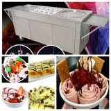 Tailândia fritou a máquina do gelado do rolo