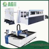 Machine de découpage automatique de laser de fibre de commande numérique par ordinateur pour l'alliage en acier en métal de découpage