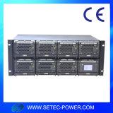 48V/110V/220VDC 100A Telekommunikationsentzerrer-System mit LCD-Bildschirmanzeige u. SNMP-Funktion