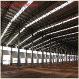 Große Überspannungs-vorfabriziertes Hochleistungshaus-Stahlgebäude