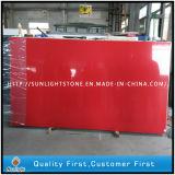 Künstliches Rotes/Grün/Weiß färbt Countertop-Quarz-Stein-Platten