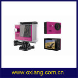 Подобная камера действия спорта Gopro WiFi Ultraslim ультра полная HD 4k (OX-H9)