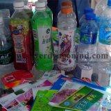 Luva do Shrink do PVC da qualidade do OEM Higt para a etiqueta do frasco, fabricantes profissionais