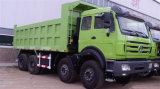 Beiben 8X4のダンプカー12の車輪40t~50tのダンプトラック