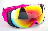 UV 400 Anti Fog PC Lens Esportes de esqui de máscara de óculos