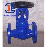 Robinet d'arrêt sphérique de bride de l'eau de fer de moulage de DIN/API/acier de moulage