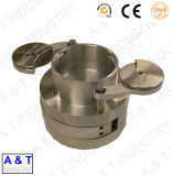 CNC kundenspezifische Messing-/Edelstahl-/Aluminium-maschinell bearbeitenprägedrehbank zerteilt Maschinen-Teile
