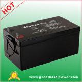 Bateria aprovada 250ah 12V do AGM da bateria da energia solar do armazenamento do CE