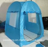 خارجيّ يفرقع مسيكة فوق عرض خيمة