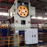 Type étroit machine de 800 tonnes de presse d'alimentation électrique de manivelle de double