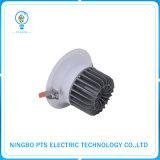 dispositivo de iluminación caliente de la venta de 10W 900lm LED impermeable ahuecado Downlight IP40