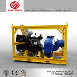 56kw 플러드 배수를 위해 큰 유출을%s 가진 디젤 엔진 수도 펌프의 공급자