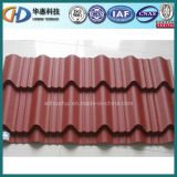 Verglasung Tile Corrugated Roofing Steel Sheet Used auf Building