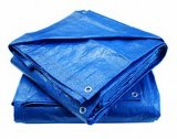Résistance de déchirure et matériau traité aux UV de tente de feuille de bâche de protection