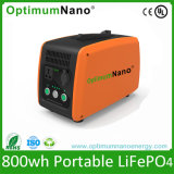 Batería de litio portable de la UPS 300wh 800W del generador del almacenaje de energía