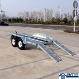 Специальное Customcar Trailer с Ramp с 2 Axle (SWT-CT146)